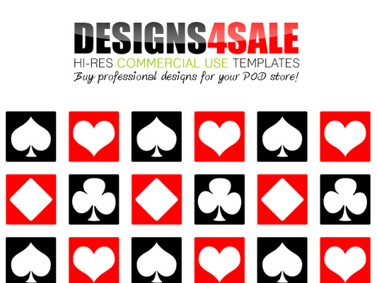 Pay for Deck Of Cards Pattern For Sale