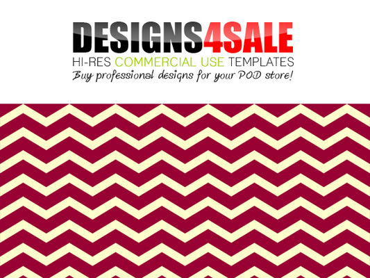 Pay for Thick Chevron Red Pink Pattern For Sale