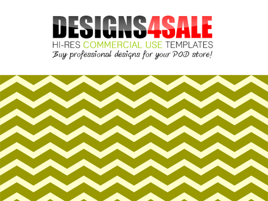 Pay for Thick Chevron Green Pattern For Sale