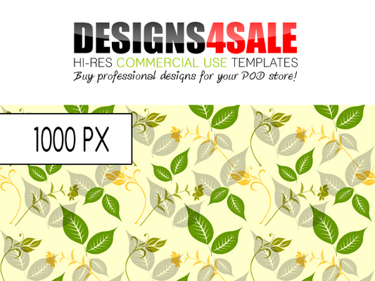 Pay for Flourish Spring Pattern For Sale