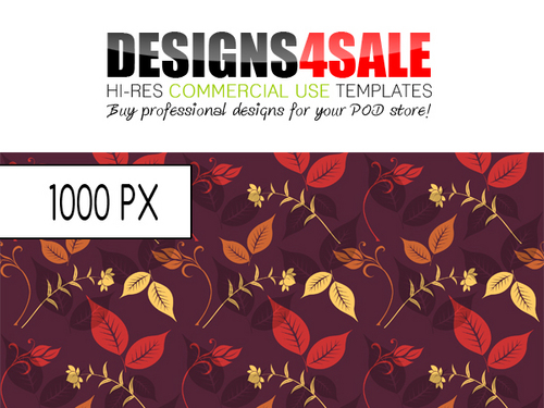 Pay for Flourish Autumn Pattern For Sale