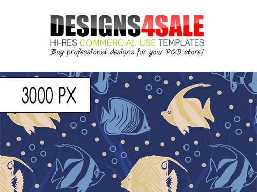 Pay for Sea Fish Pattern For Sale