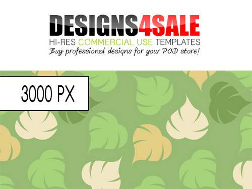 Pay for Falling Leafs Spring Pattern For Sale