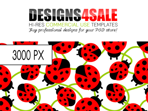 Pay for Ladybug / Ladybird Pattern For Sale