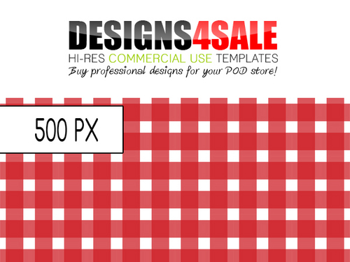 Pay for Gingham Check Red Pattern For Sale