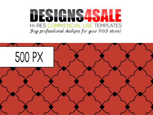 Pay for Quatrefoil Black Pattern For Sale