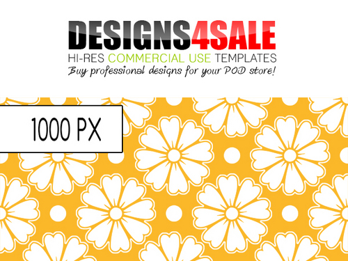 Pay for Flower Stickers Pattern For Sale