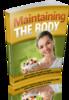 Thumbnail Maintaining The Body