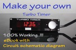 Thumbnail Turbo timer - 12V/24V Circuit. schematic diagram. DIY Projec