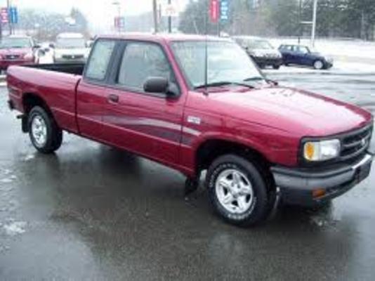 1996 mazda b3000 pickup truck service repair manual 96