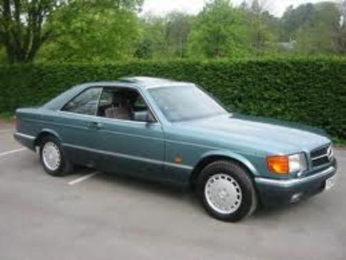 Pay for 1989 Mercedes 560SEC Service Repair Manual 89