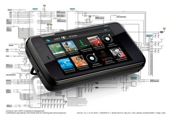 Pay for Nokia N900 Schematic Diagram