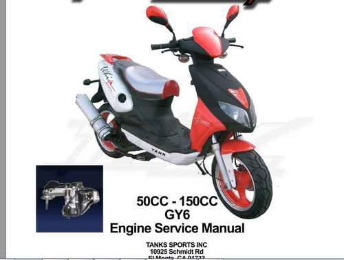 gy6 50cc 150cc scooter repair service manual download manuals am rh tradebit com Znen 150Cc Scooter Znen 150Cc Scooter