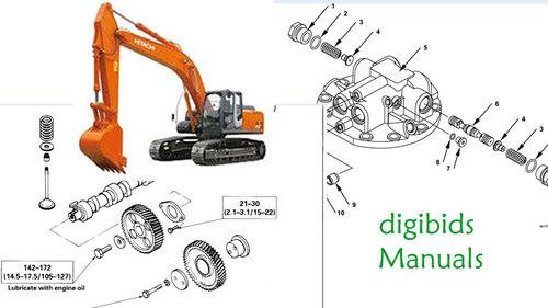 hitachi zaxis zx200 225usr 225us 230 270 workshop manual download rh tradebit com Hitachi 135 Excavator Specs Hitachi Troubleshooting Manual