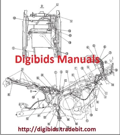 yamaha tdm 850 1996 1999 workshop repair service manual downlo rh tradebit com yamaha tdm 850 3vd service manual pdf yamaha tdm 850 4tx service manual