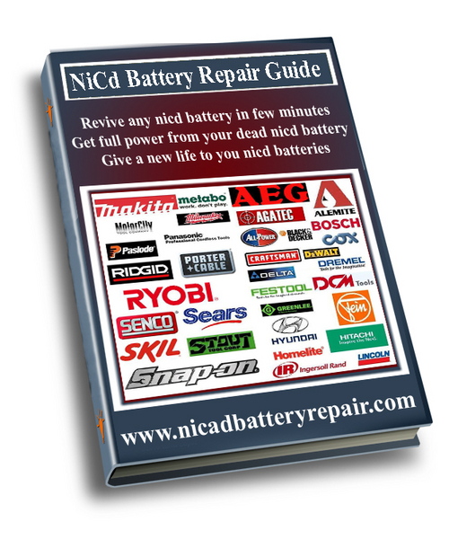 Pay for QEP Complete NiCd Battery Repair Guide  Download DIY eBook
