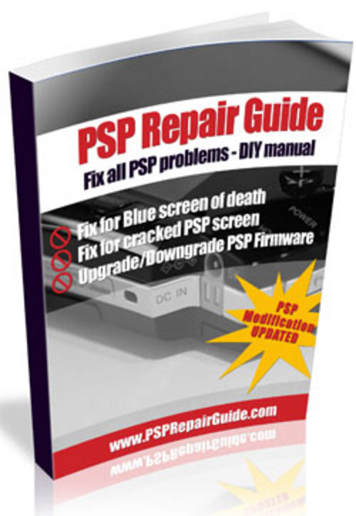 Pay for Easy & Complete Sony PlayStation Portable (PSP) Repair Guide