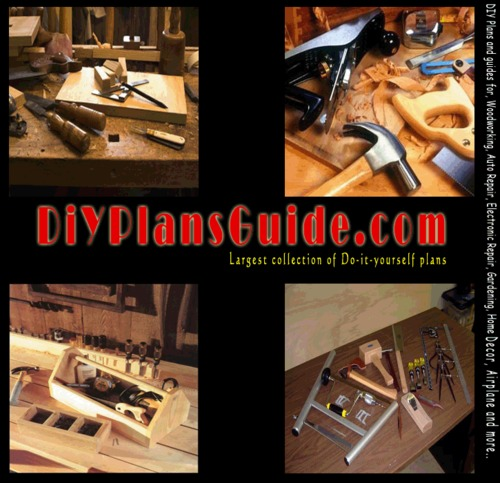 Pay for Home Built Roll-Around Utility Cart Guide Woodworking Plan