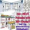 Thumbnail Turnkey Mega Ebook Store with 200+ Ebooks - Over 340MB (MRR)