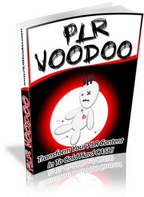Pay for PLR VOODOO - Private Label Rights Voodoo