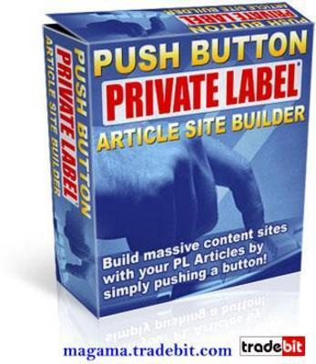 Pay for Push Button Private Label Article Site Builder MRR