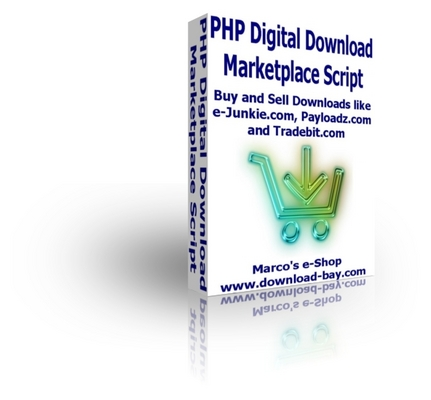Pay for PHP Digital Download Marketplace Script with Resell Rights