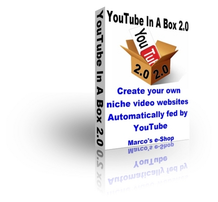 Pay for YouTube In A Box 2.0 - Automatic Video Website Script - NEW!