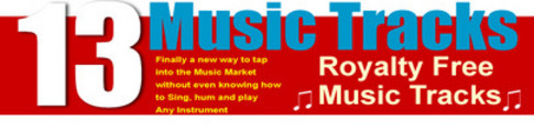 Thumbnail 13 Royalty Free Music Sound Tracks MRR