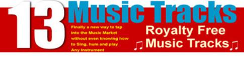 Thumbnail 13 Royalty Free Music Sound Tracks MRR