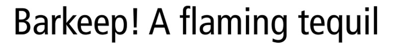 Thumbnail Frutiger 75 Black Font - Download Frutiger Font