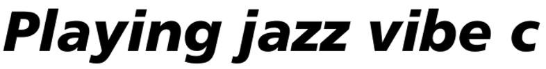 Thumbnail Frutiger 76 Black Italic Font - Download Frutiger Font