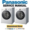 Thumbnail Panasonic NA 107VC4 107VC4WES 107VC4WGN 107VC4WTA Service Manual & Repair Guide