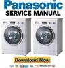 Thumbnail Panasonic NA 127VB4 127VB4WES 127VB4WGB 127VB4WGN Service Manual & Repair Guide