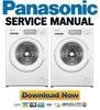 Thumbnail Panasonic NA 127VB6 127VB6WES 127VB6WFR 127VB6WGB Service Manual & Repair Guide