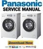 Thumbnail Panasonic NA 128VB5 128VB5WES 128VB5WTA 128VB5WFR Service Manual & Repair Guide