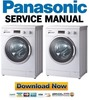 Thumbnail Panasonic NA 147VB4 147VB4WDE 147VB4WES 147VB4WGB Service Manual