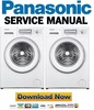 Thumbnail Panasonic NA 147VB6 147VB6WDE 147VB6WGB Service Manual & Repair Guide