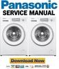 Thumbnail Panasonic NA 147VB6WGN 147VB6WNR Service Manual & Repair Guide
