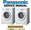 Thumbnail Panasonic NA 148VB6WGN 148VB6WTA Service Manual & Repair Guide