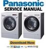 Thumbnail Panasonic NA 14VA1 16VG1 16VX1 Service Manual & Repair Guide