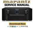 Thumbnail Marantz AV7005 Service Manual and Repair Guide
