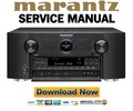 Thumbnail Marantz AV7701 Service Manual and Repair Guide