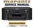 Marantz AV7701 Service Manual and Repair Guide