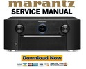 Thumbnail Marantz AV7702 Service Manual and Repair Guide