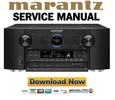 Thumbnail Marantz AV8801 Service Manual and Repair Guide