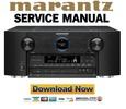 Marantz AV8801 Service Manual and Repair Guide