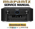 Thumbnail Marantz AV8802 AV8802A Service Manual and Repair Guide