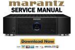 Thumbnail Marantz MM7025 Service Manual and Repair Guide