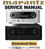 Thumbnail Marantz Melody M-CR603 MCR603 Service Manual and Repair Guide