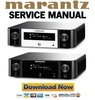 Thumbnail Marantz Melody MCR510  M CR510 Service Manual and Repair Guide